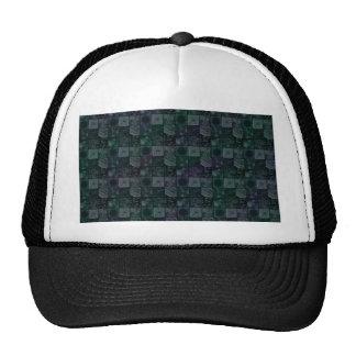 Tiles in Mottled Blue Mesh Hat