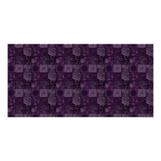 Tiles in Purple Card