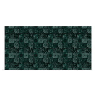 Tiles in Teal Card