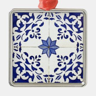Tiles Metal Ornament