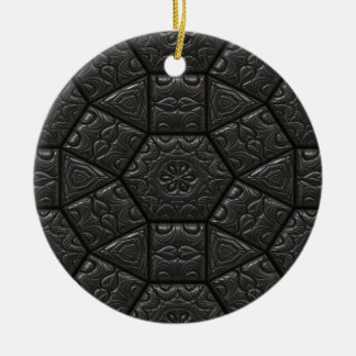 Tiles Pattern Image Ceramic Ornament