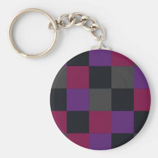 Tiles Pattern key chain