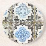 Tiles, Portuguese Tiles Beverage Coasters