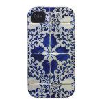 Tiles, Portuguese Tiles iPhone 4/4S Case