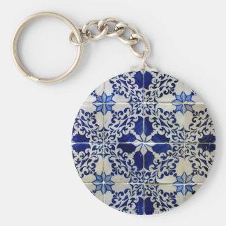 Tiles, Portuguese Tiles Keychain