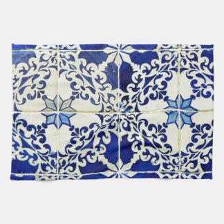 Tiles, Portuguese Tiles Kitchen Towel