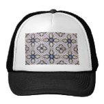 Tiles, Portuguese Tiles Mesh Hat