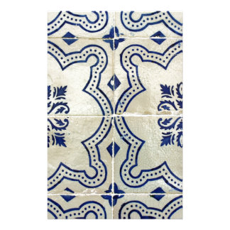 Tiles, Portuguese Tiles Stationery