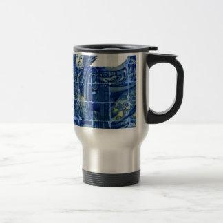 Tiles, Portuguese Tiles Travel Mug