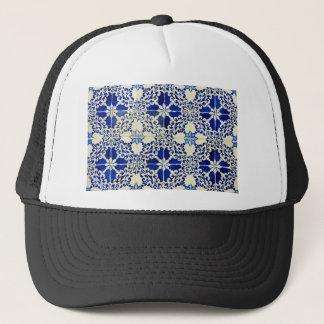 Tiles, Portuguese Tiles Trucker Hat