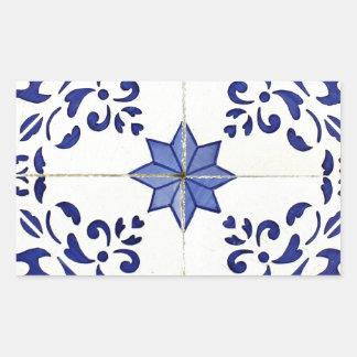 Tiles Rectangular Sticker