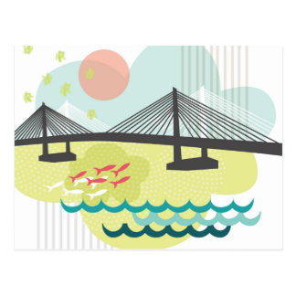 Tilikum Crossing Portland Postcard