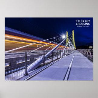 Tilikum Crossing Poster