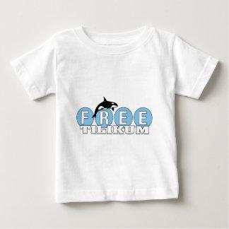 Tilikum libre playera para bebé