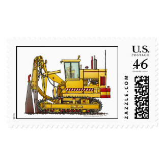 Tiling Machine Construction Stamps
