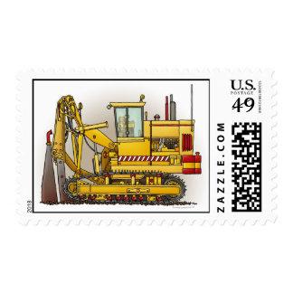 Tiling Machine Postage Stamp