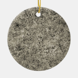 Tiling Sand Texture Double-Sided Ceramic Round Christmas Ornament