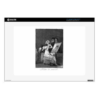 Till death by Francisco Goya Decal For Laptop