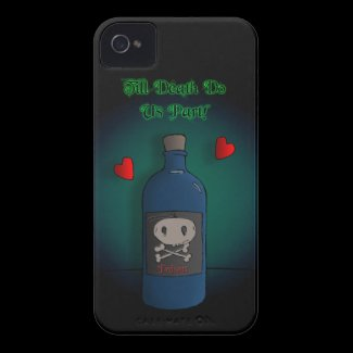 Till Death Do Us Part iPhone 4 Case-Mate Cases
