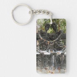 Till Death Do Us Part ... Nong Khai, Thailand Keychain