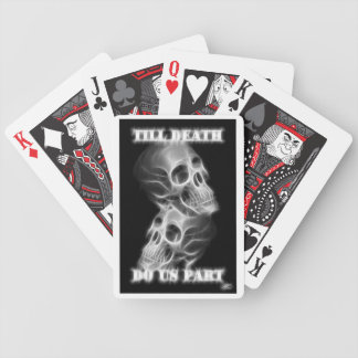 Till Death Do Us Part Playing Cards