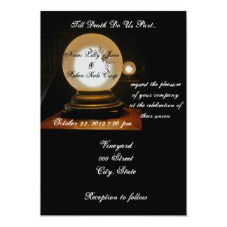 Till Death Do Us Part Wedding Invitation
