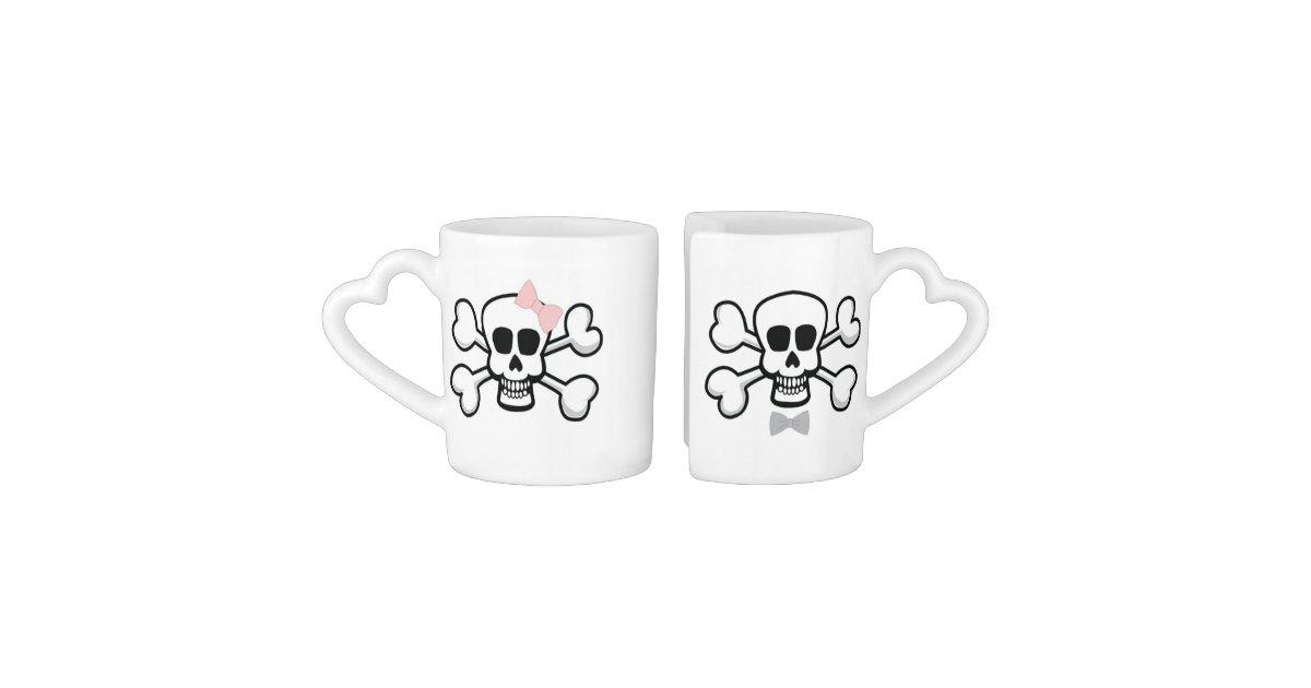 Till Death DO US Part Wedding Mugs with skulls Zazzle