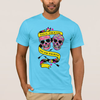 Till Death Do Us Party - Neon Couples Shirt (his)