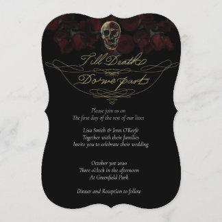 Till Death Wedding Invitations