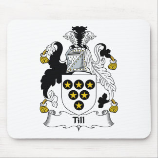 Till Family Crest Mouse Pad