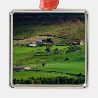 Till the cows come home metal ornament
