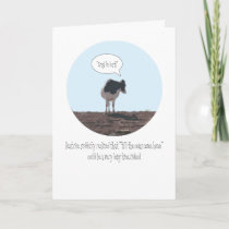 'Till the Cows Come Home Valentine's Card