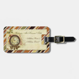 Till The End of Time Victorian Luggage Tag