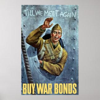 Till We Meet Again -- WW2 Poster