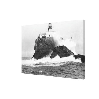Tillamook, Oregon Lighthouse Near Seaside, OR Canvas Print
