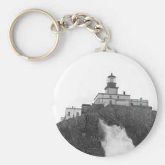 Tillamook Rock Lighthouse Keychain
