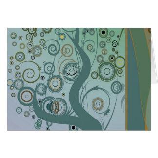 Tillbert el árbol tarjeta