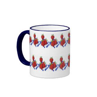 Tilled Berries Ringer Mug