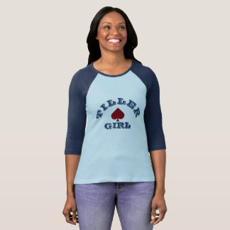 """Tiller Girl"" Narrowboating T Shirt"