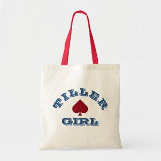 """""""Tiller Girl"""" Narrowboating Tote Bag"""