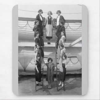 Tiller Girls Dance Troupe: early 1900s Mouse Pad