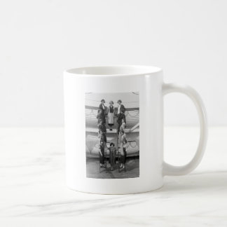 Tiller Girls Dance Troupe: early 1900s Classic White Coffee Mug