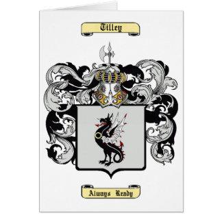 Tilley Card