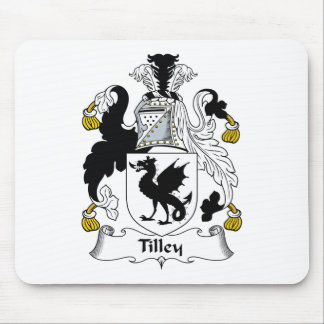 Tilley Family Crest Mouse Mats