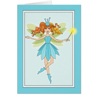 Tilley the Fairy Note Card