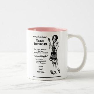 Tillie la taza 1926 del ejemplo del Toiler