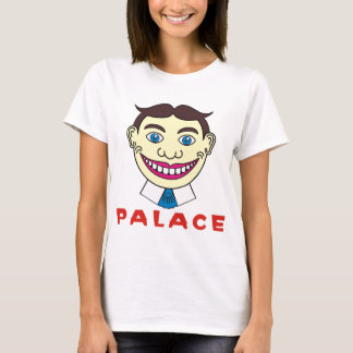 Tillie over Palace Letters T-Shirt