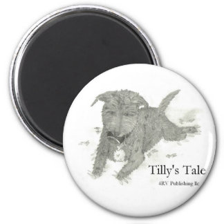 Tilly 2 Inch Round Magnet