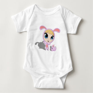 Tilly and Creampuff the Rabbit T Shirts