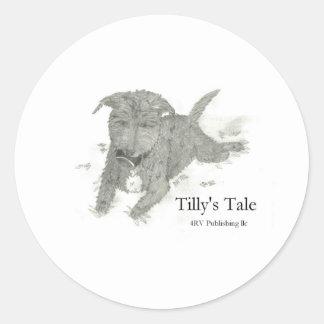 Tilly Classic Round Sticker